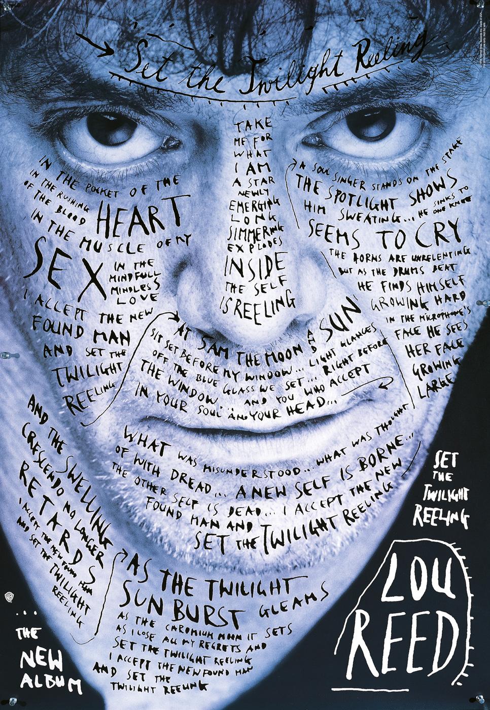 Lou Reed Stefan Sagmeister