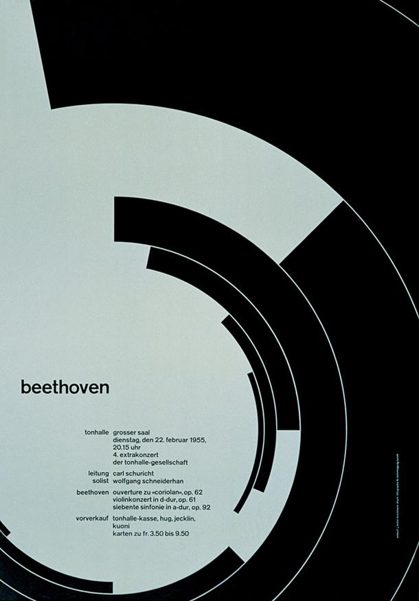 Joseph Muller Brockman Beethoven