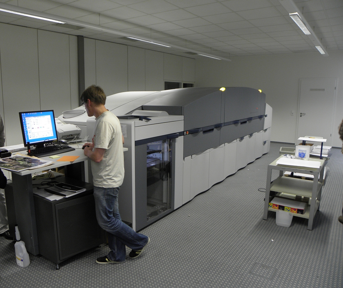 digital press (Bilder für Wikipedia)