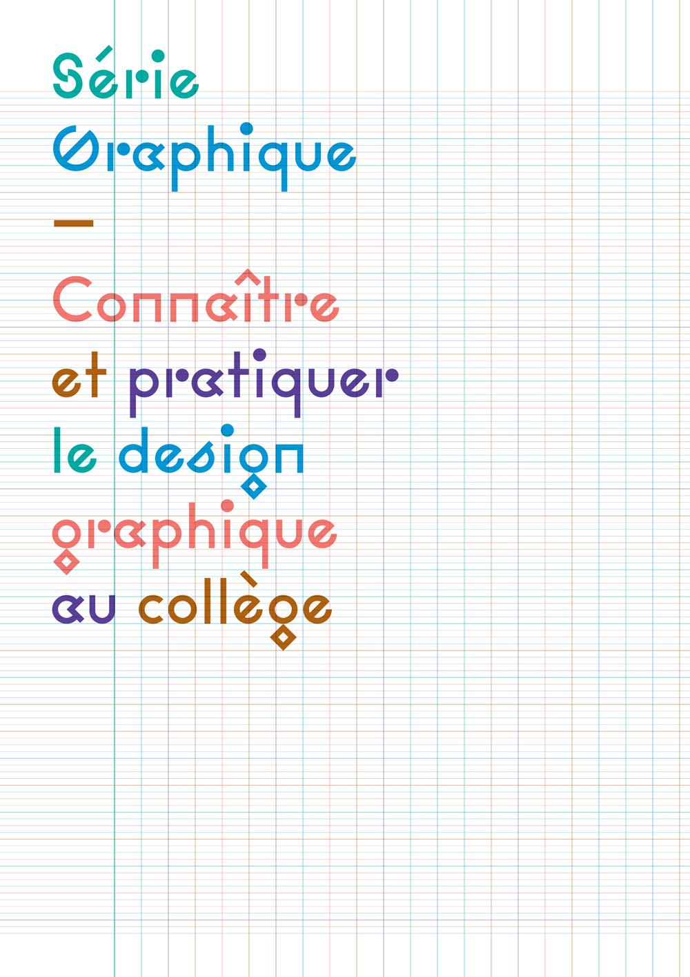 Connaître et pratiquer le design graphique au collège couverture
