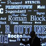 Propos sur les choix typographiques